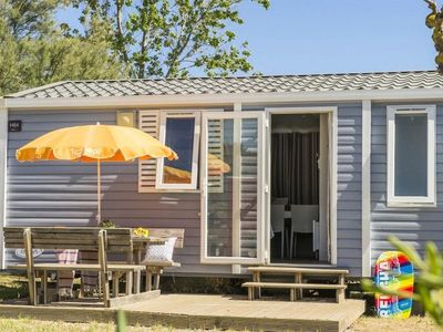 Photo for Camping Le Petit Mousse *** - Mobil Home Cozy Plus 3 rooms 4 people conditioning