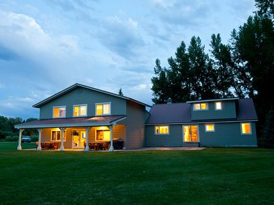 Photo for Beautiful Wilson home on Fish Creek (5 bedrooms)