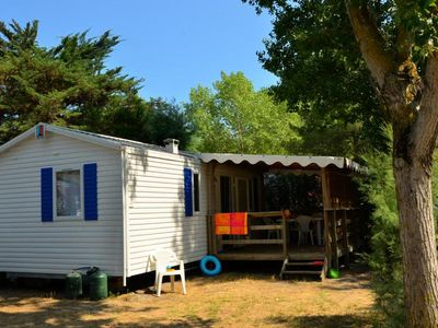 Photo for Camping L'Eden ***** - Mobil home Air conditioned 3 rooms 4/6 people