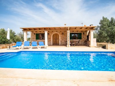 Photo for Son Garrot with swimming pool and Wifi near Santanyí