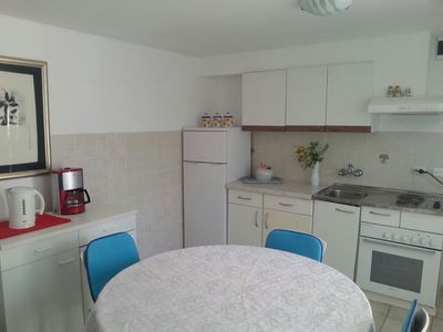 Photo for bedroom No.1: double rooms; double bed; two extra beds available; with terrace; laminated wood floor