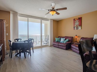 Photo for Rare find:RESERVED PARKING 3rd FL BEACH VIEW, Sleeps 4, 5% weekly discount