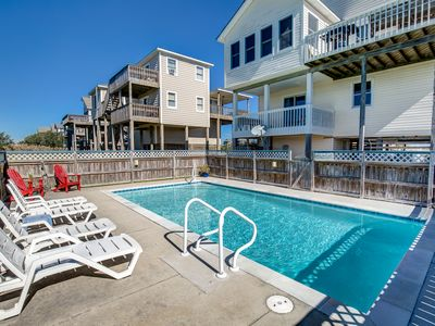 Photo for Fay's Sunny Daze | 369 ft from the Beach | Private Pool, Hot Tub