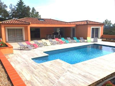 Photo for VILLA SEEN ON MONT VENTOUX with heated pool