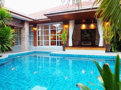 Photo for 4 Bedroom Bungalow with Private Pool 1km from Beach/Walking Street 10 min away