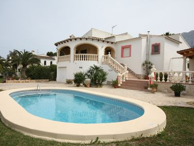 Photo for Villa with 3 bedrooms, two bathrooms and private pool.