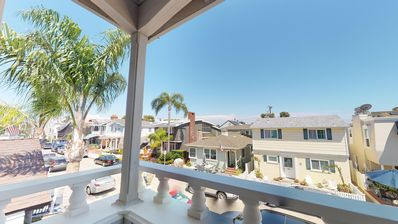 Photo for A Two Story 3 Bedroom, 3 Bath Balboa Island Front Unit Close to the Ferry!!!