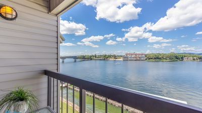 Photo for LEVEL entry LUXURY!! Perfect/Peaceful Lake front condo!!
