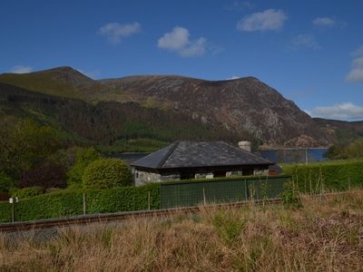 Photo for At the foot of Snowdon five miles from Beddgelert is a nineteenth century converted former station O
