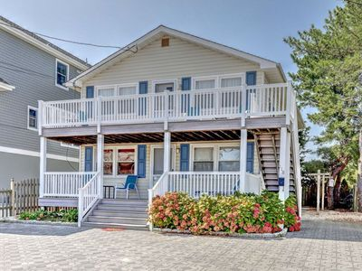 Photo for OCEAN BLOCK 6th From Beach - Newly Furnished 3 BR, Sleeps 8 (1st Fl of Duplex)