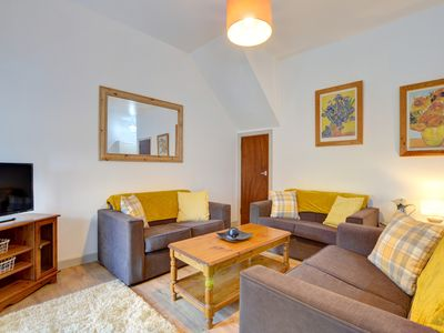 Photo for Contemporary accommodation for a family of up to six, one of a group of three converted from a stone
