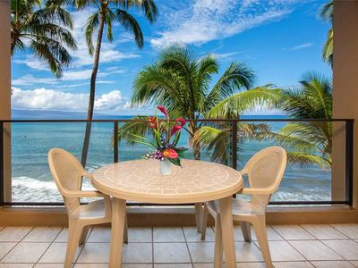 Photo for OCEANFRONT! with AC! Mahana 306
