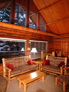 Photo for Tahoe Log Cabin 2 ml to Heavenly Village Gondola, Hot Tub, Sleeps up to 16