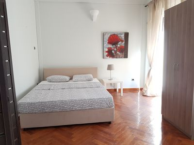 Photo for Red Apartment (A large apartment of 140 sq.m., sunny, airy and renovated)