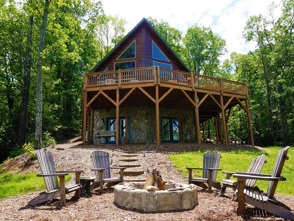 Property Image#12 Stone Mountain Serenity   MerleFest Week Still Open!  Amazing Views!