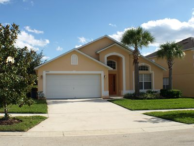 Photo for Kissimmee South Facing Pool Home with Spa, Just 4 Miles to the Disney Resort!