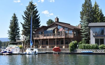 Photo for Serene Lake Tahoe Waterfront Home with Private Dock