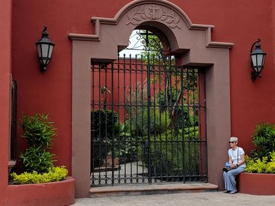Entry Gate (and Carol!)