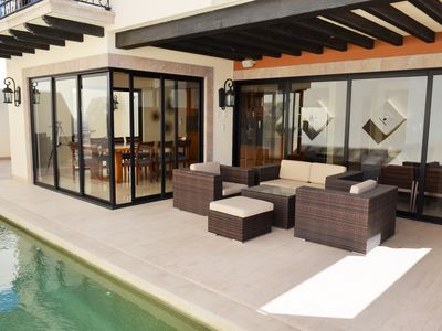 Photo for Beautiful 3 bed private pool Villa @ Copala