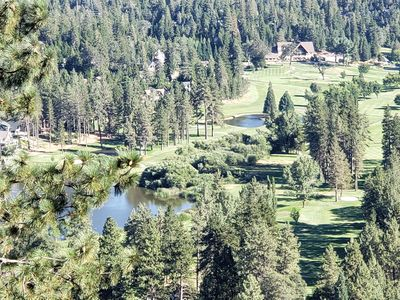 Photo for Huge Mountain Cabin Breathtaking Golf Course View
