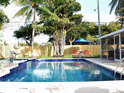 Photo for Slice of Paradise with Pool and close to Antique Row & Convention Center