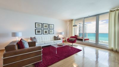 Photo for DIRECT OCEANFRONT 2/1 CORNER CONDO ON THE BEACH-SOUTH BEACH W/ BALCONY