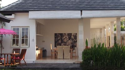 Photo for RELAXING AN BEAUTIFUL VILLA IN CANGGU