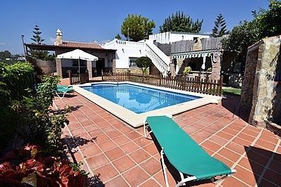 Photo for 3 bedroom Villa, sleeps 6 in Nerja with Pool and WiFi