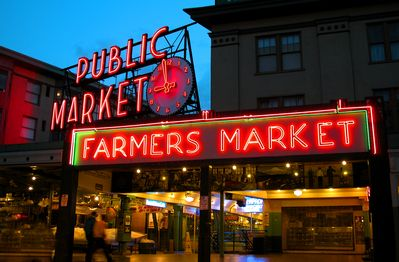 Pike Place Market is only 3 blocks away