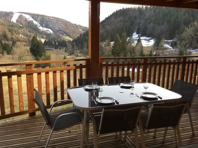 Photo for Apartment with beautiful views near the ski slopes and mountain bike