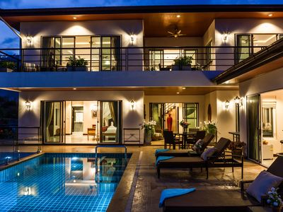 Photo for 2 Bedroom Seaview Pool Villa in Chaweng Noi
