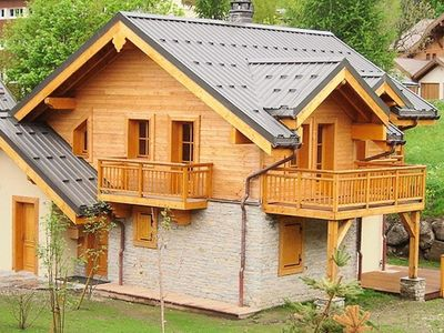 Photo for Chalet Alpenroc is a beautiful new chalet. Quiet environs.