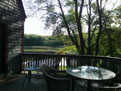 Enjoy coffee on the deck with pond view/wildlife