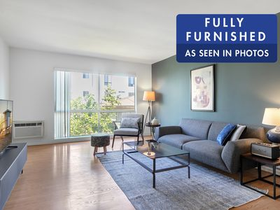 Photo for Sharp West Hollywood 1BR w/ Pool + W/D near Walk of Fame by Blueground