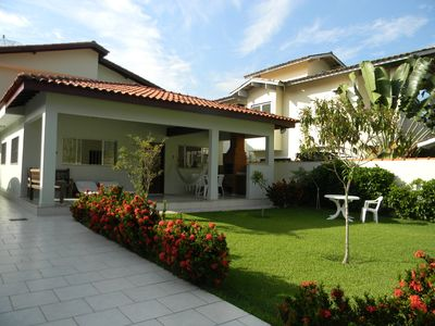 Photo for NEW HOME - 60 m from the beach with air conditioning, barbecue on the terrace and garden