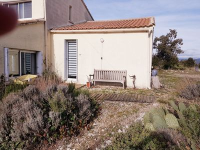 "Photo for ""House on the hill, facing the Pic Saint Loup"""