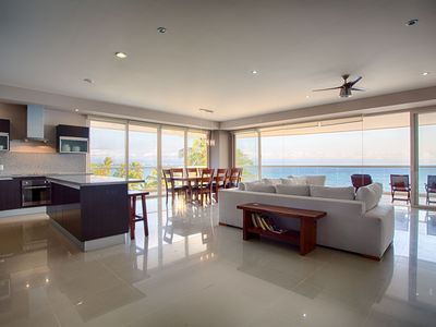 Photo for Beautiful views from this corner unit at Bucerías