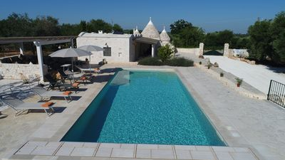Photo for Fantastic Trull'amore overlooking Ostuni and Masseria Foragno