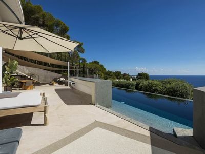 Photo for Panoramic Villa Diamond in Ibiza, with 5 bedrooms, private pool, 10 sleeps