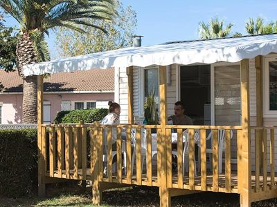 Photo for Camping Le Soleil Bleu by Nai'a **** - Mobile Home Aloha 2 Rooms 4 People