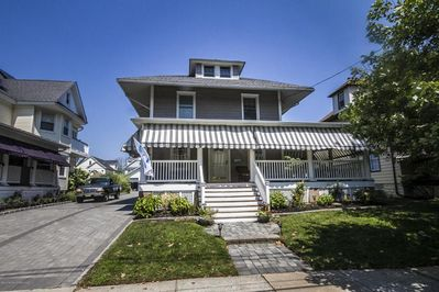 Luxurious Belmar Beach House With Pool And Porch 5 Block Walk To Beach Belmar