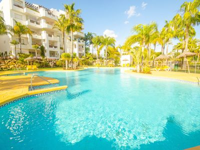 Photo for APARTMENT MARINO - SWIMMING POOL NEXT TO THE BEACH