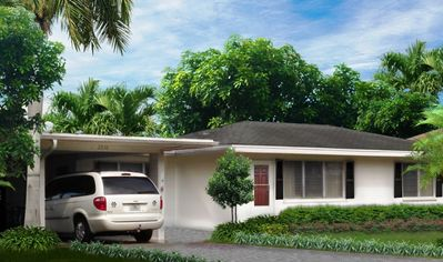 Siesta Home - Tropical Vacation Home close to 4 beaches & historic downtown Venice Island.