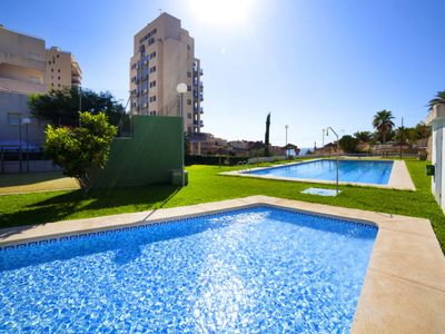 Photo for la Canuta Apartment, Sleeps 4 with Pool, Air Con and Free WiFi