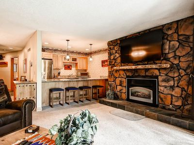 Photo for Ski-in/out! Just one block from Downtown! Steps to trailhead! Indoor hot tubs!