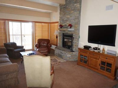 Photo for Luxury 4 Bedroom + Loft, 4 Bath Condo With Gorgeous Mountain Views - Snowbird Condos Unit 202