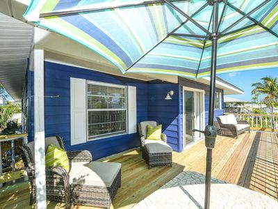 Photo for NEWLY LISTED! 3 NIGHT MIN.! Short Walk to Beach! Covered Outdoor Area w/Pool!