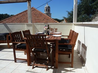 Photo for Villa Louise, traditional house in old town, 5 mins walk to restaurants & beach