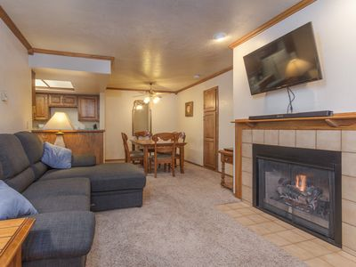 Photo for Two Bedroom - Copper Chase 215 - Ski In Ski Out Chairs 4 & 6