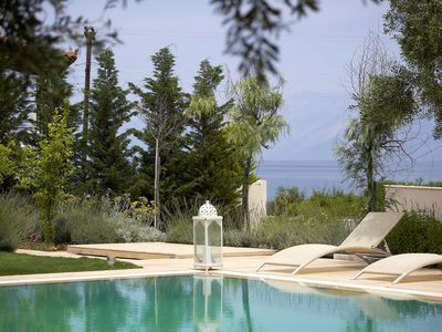 Photo for The Marble Resort- Complex of 3 Luxury Villas, Beachfront with swimming pool